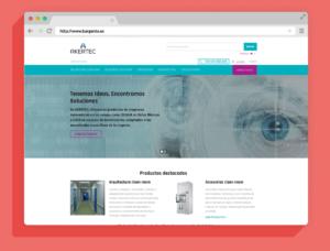 Plataforma WordPress responsive. Web corporativa Akertec - Reinicia Agencia de Marketing Digital