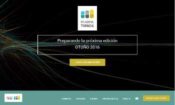 Web corporativa Pharmatrends. Plataforma Wordpress responsive