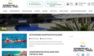 Blog de Sabanell Central Park - web contenidos - Agencia Reinicia