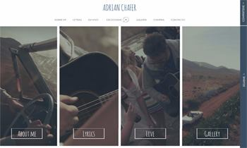 Web promocional Adrián Chafer