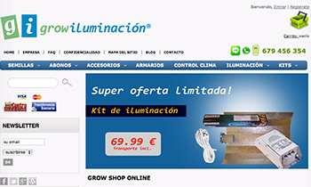 Grow Iluminación - Tienda online