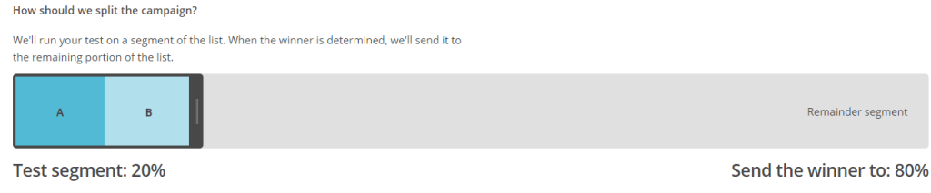 Cómo dividir los envíos