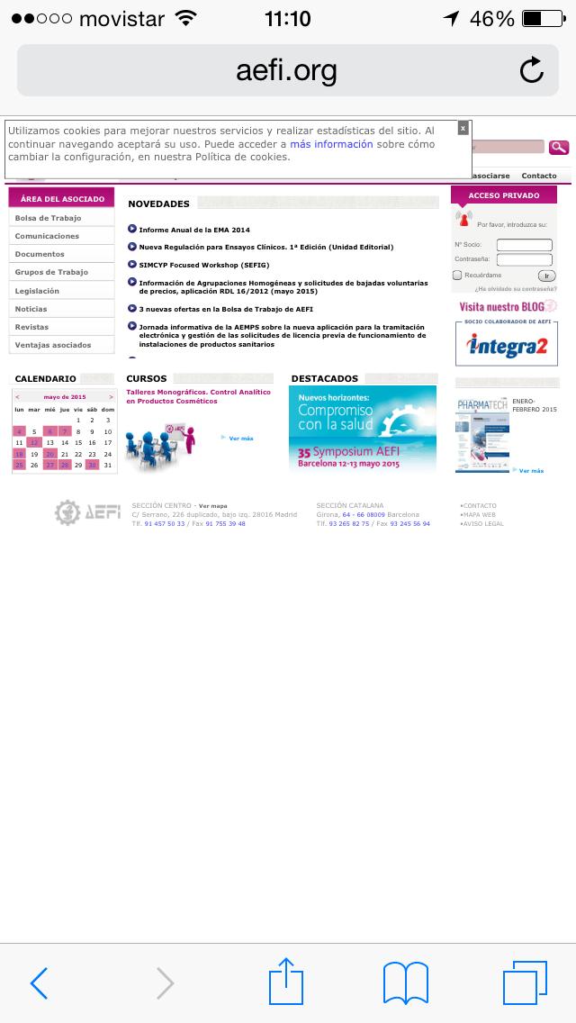 Web Movil - AEFI