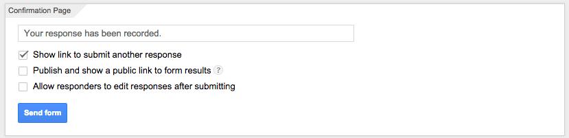 datos confirmación - Google Sheets