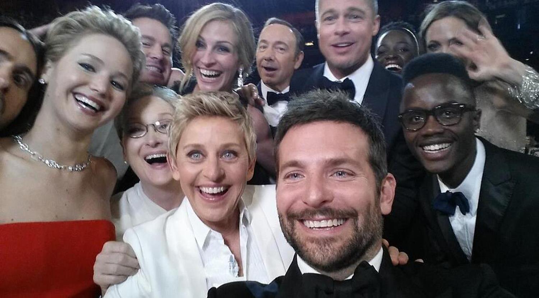Selfie Oscars 2014 Ellen DeGeneres
