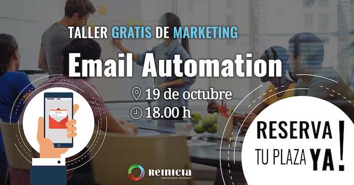 Meetup email automation - Formación - Reinicia Agencia de Marketing Digital