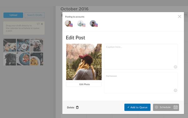 schedugram-programar publicaciones en Instagram