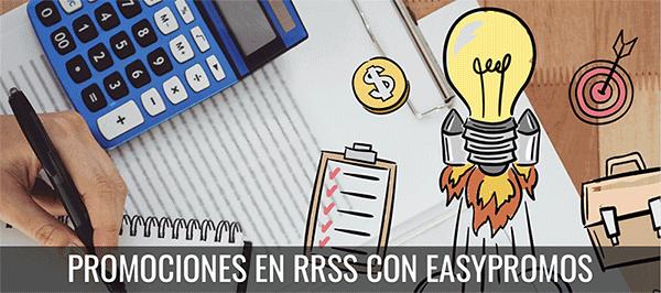 Concursos y sorteos en Redes Sociales con Easypromos - Agencia Reinicia