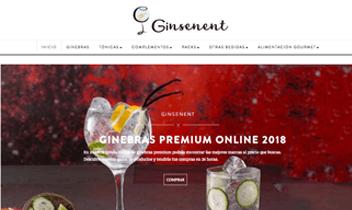 Tienda online - Ginsenent