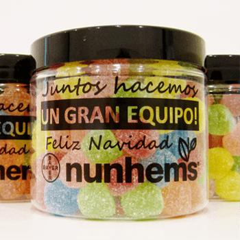 Chocolates y dulces personalizados