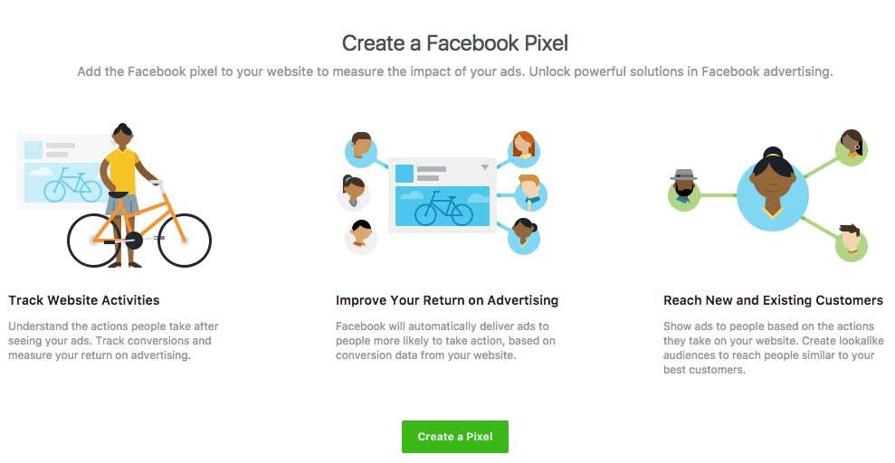 Crear píxel de facebook