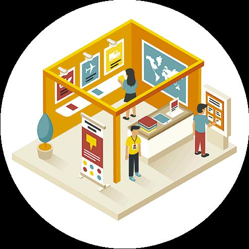 Diseño y montaje de stands personalizados