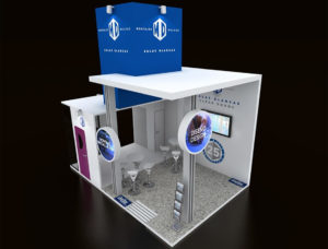 Diseño stand FarmaForum 2018